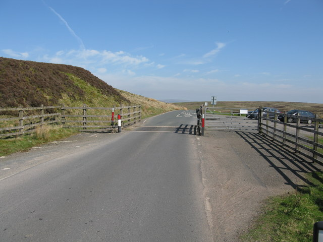 Cattle Grid at the Summit of Slaidburn Road (B6478)
