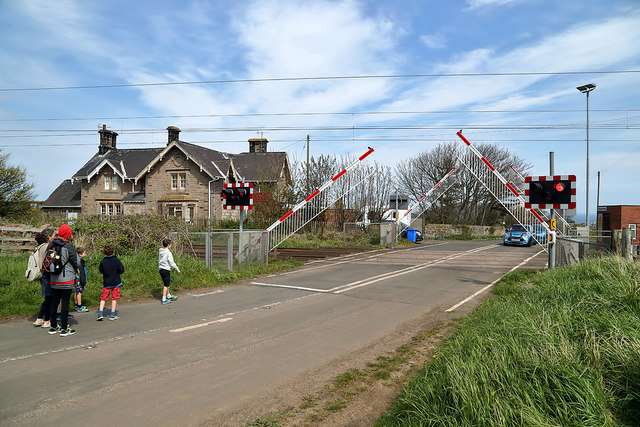 Scremerston Level Crossing
