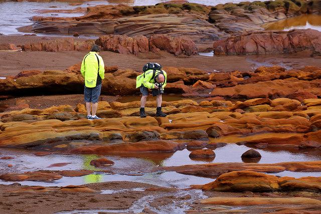 Rock exploration at Spittal