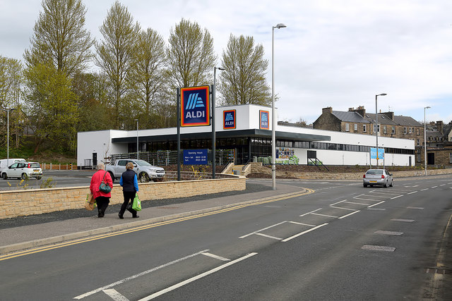 The Aldi Store at Hawick