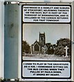 SJ9091 : Lamppost Art: St Paul's, Portwood (West face) by Gerald England