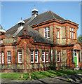 TQ1777 : Brentford Public Library by Julian Osley