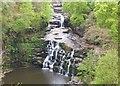 NS8841 : Corra Linn, Falls of Clyde by Jim Barton
