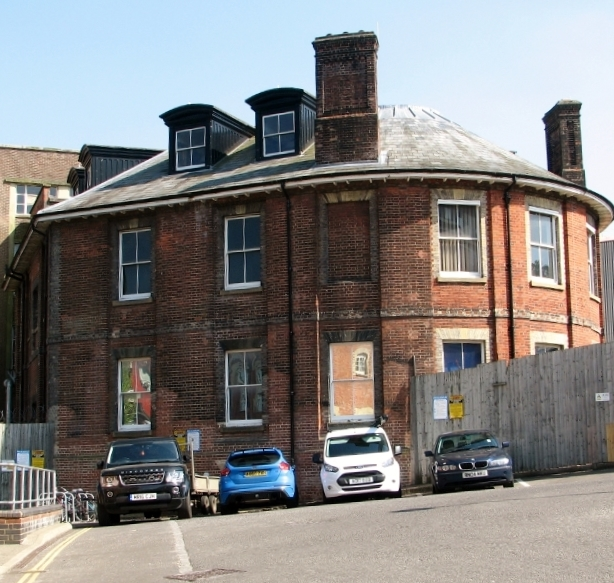 Building in Paper Mill Yard / Carrow Works