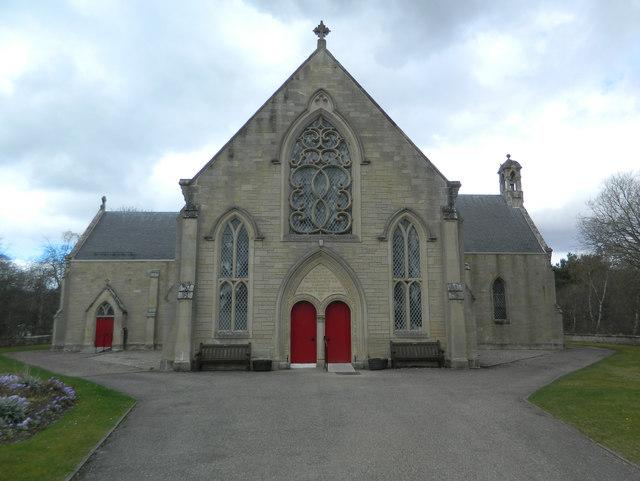 Inverallan Church, Grantown on Spey