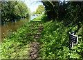 SJ8415 : Shropshire Union Canal milepost by Mat Fascione