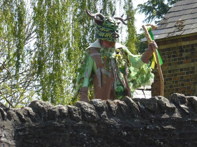 The Clun Green Man in 2018