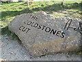 SE1263 : Coldstones  Cut  carved  rock by Martin Dawes