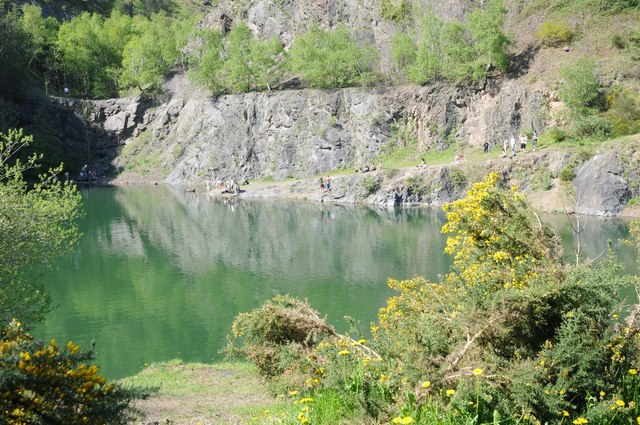 A Bank holiday weekend in Gullet Quarry