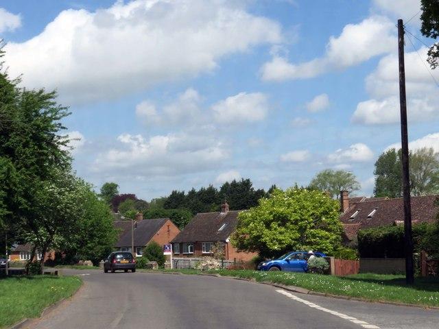 Heyford Road in Steeple Aston