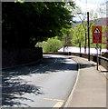 SO2408 : Reduce Speed Now/Arafwch Nawr, Church Road, Blaenavon by Jaggery