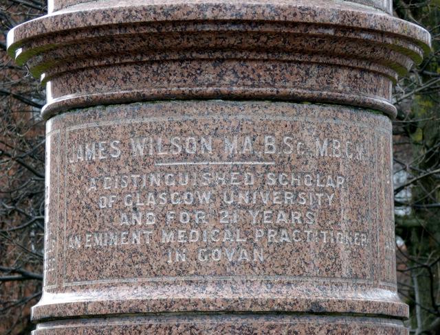James Wilson memorial