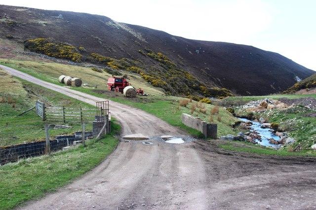 Farm access at Swordly