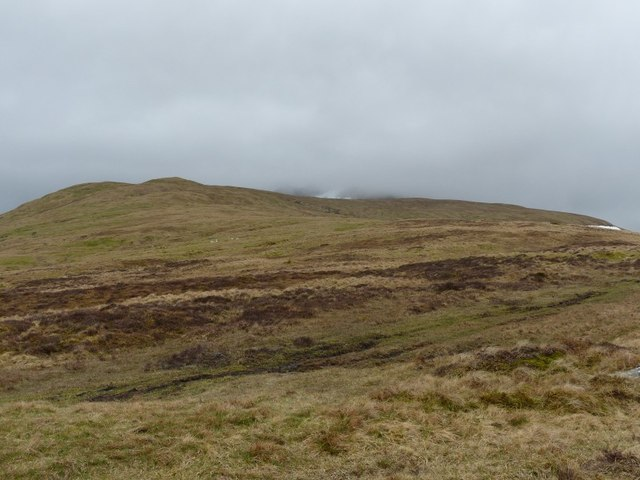 Eastern flanks of Meall Greigh