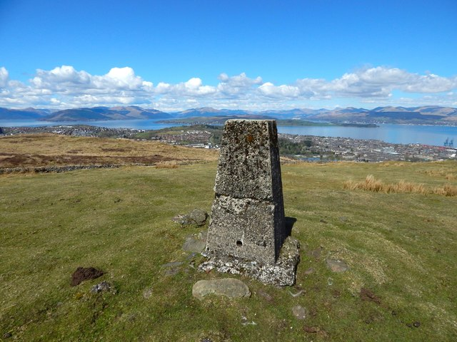 Murdieston trig point