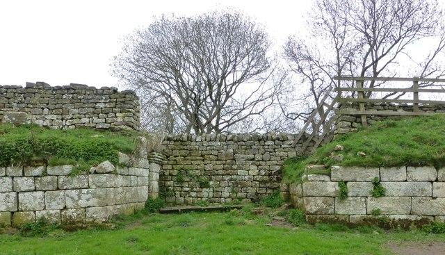 Bremenium Roman Fort