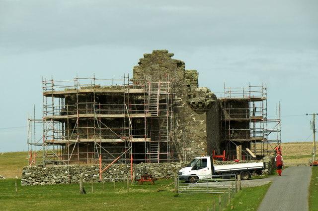 Repairing Muness Castle