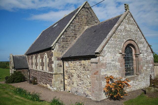 The Church of St Paul at Branxton