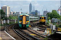 TQ2775 : Southern Services at Clapham Junction by Martin Addison