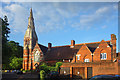 SU8780 : All Saints Church, Boyn Hill Road by Des Blenkinsopp