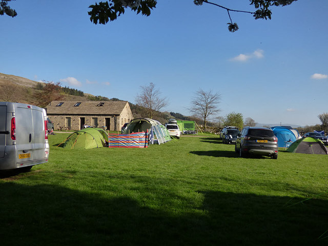 Kettlewell campsite