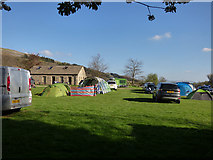SD9772 : Kettlewell campsite by Stephen Craven