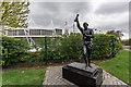 SJ8843 : Gordon Banks Statue, Bet 365 Stadium, Stoke on Trent by Brian Deegan