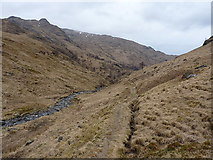 NG8702 : Stalkers' path in Gleann Unndalain by Richard Law