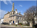 NJ6863 : Banff townhouse and tolbooth tower by Bill Harrison