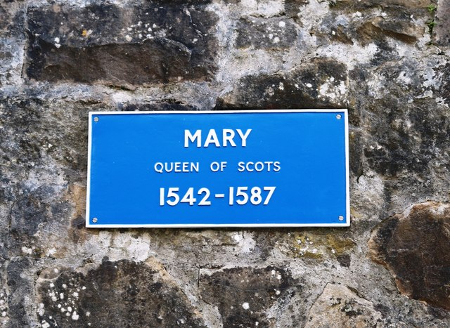 Plaque at Linlithgow Palace