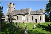SP0809 : Coln Rogers church by Philip Halling