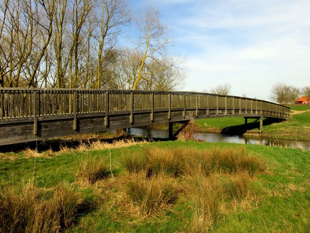 Footbridge over the River Ouzel