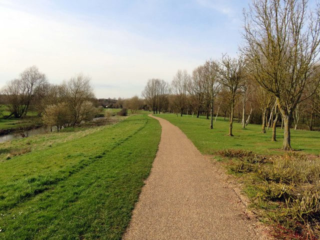 Footpath by the River Ouzel