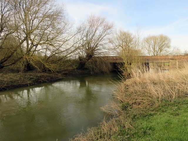 The River Ouzel by Simpson Bridge