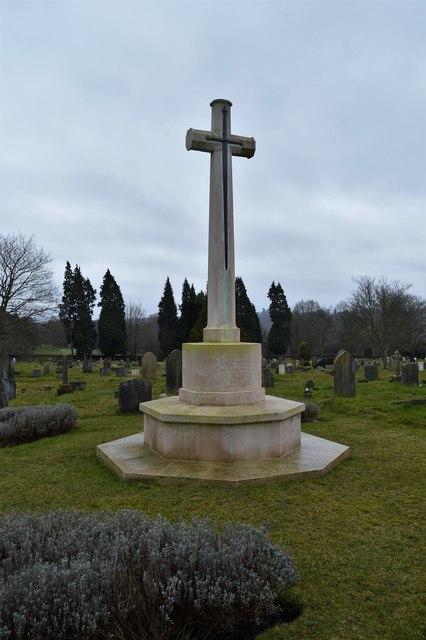 War memorial, Kent & Sussex Cemetery