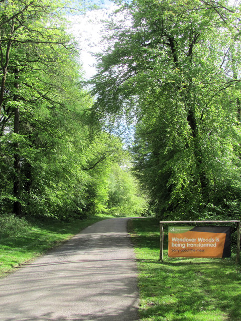 Approach to the Woodland Centre