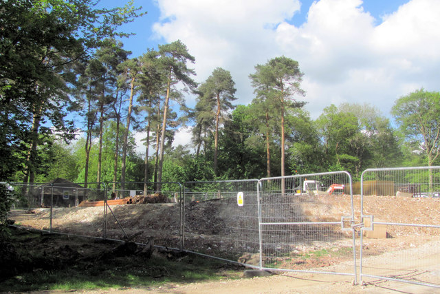 The New Cafe Site - and the Old Cafe