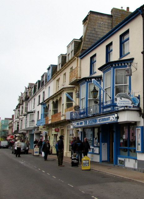 The Dolphin in Ilfracombe