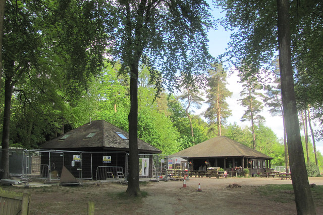 Work on the New Information Centre in Wendover Woods