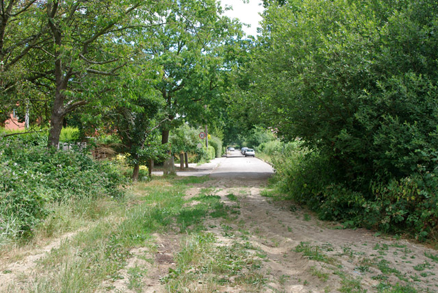 Tweed Lane, Strood Green