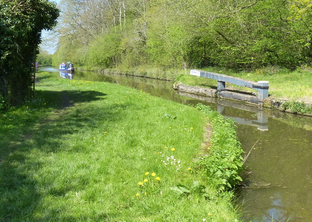 Stop lock on the Shropshire Union Canal