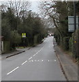 SK1000 : Warning sign - no footway for 90 yards, Hill Hook Road, Sutton Coldfield by Jaggery