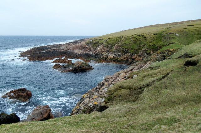 Skeld on the north-east coast of Foula
