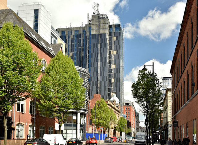 Windsor House redevelopment, Belfast - May 2018(2)