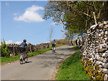 SD9772 : Cam Gill Road, Kettlewell - spectators starting to arrive by Stephen Craven