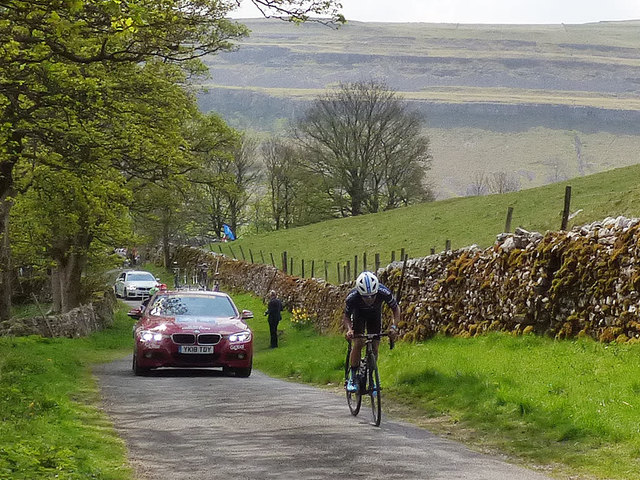 Tour de Yorkshire - leader of the pack
