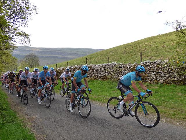 Tour de Yorkshire - the peloton