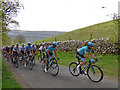SD9772 : Tour de Yorkshire - the peloton by Stephen Craven
