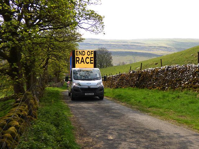 Tour de Yorkshire - End of the Race