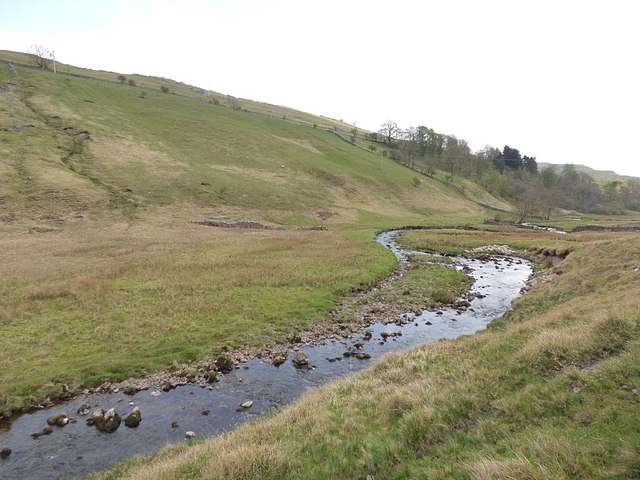 Kettlewell Beck, looking downstream